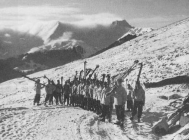 Greek Army ski battalion mountain troops