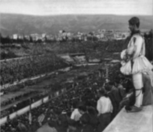 evzone-panathinaiko-stadium-greek-soldier