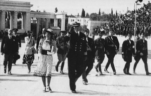 metaxas celebrations 4th august 1936