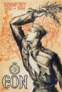 1941 poster for the celebration 120th anniversary 1821