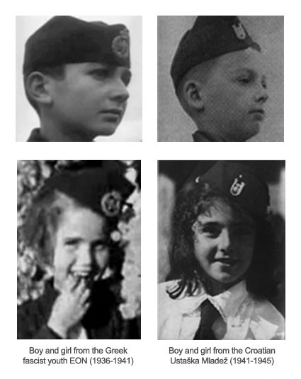 Ustasha youth Ustaška Mladež